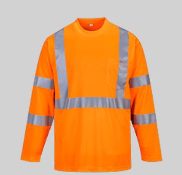 camiseta alta visibilidad portwest