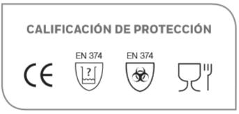 protección guantes
