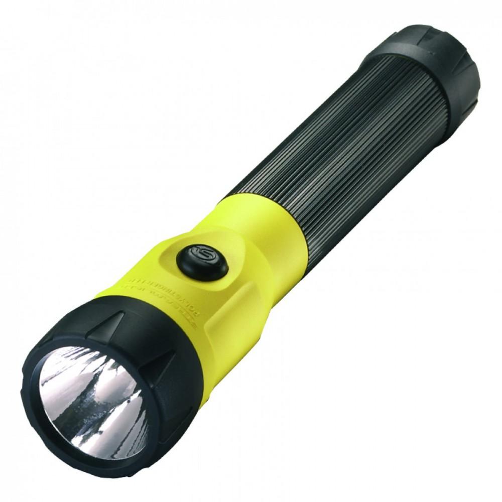 Linterna recargable 76174 polystinger led amarilla negra - Linterna recargable led ...