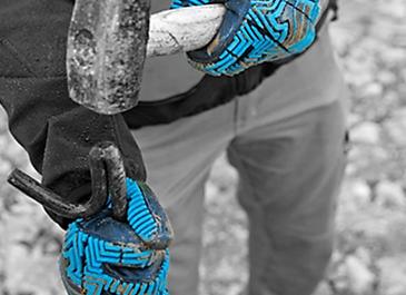 guantes polyflex hydro