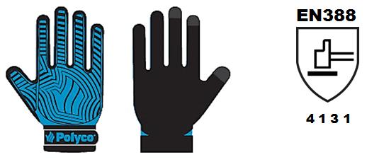 proteccion guantes polyco