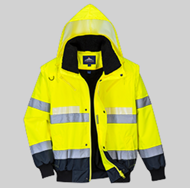 chaqueta alta visibilidad