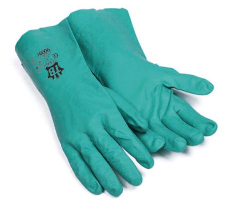 guantes riesgo químico