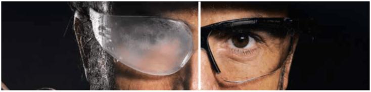 gafas con hydroshield