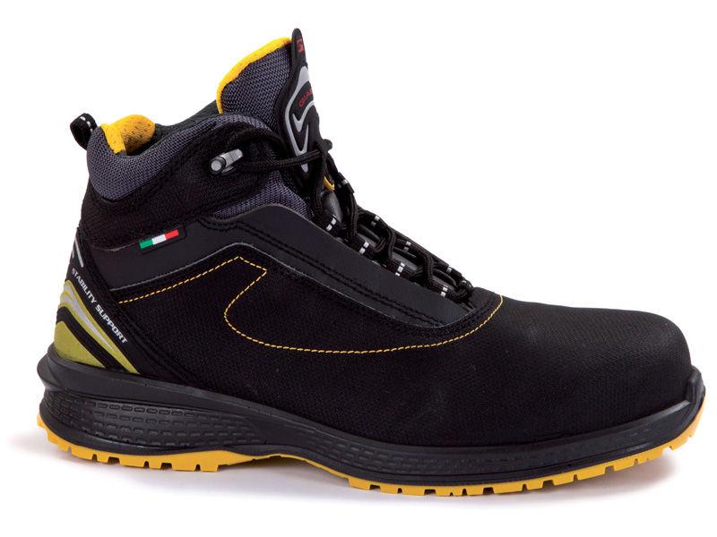 zapato alto seguridad