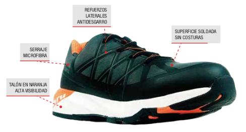 zapato antiperforación