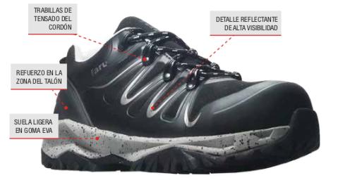 e6af7cf37b8 Zapato de Seguridad FIOLI de Faru. | Proin-Pinilla