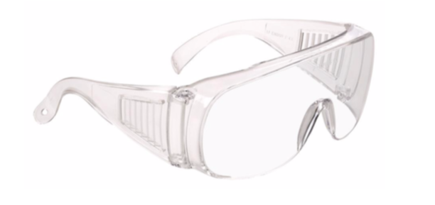 gafas de protección sin látex