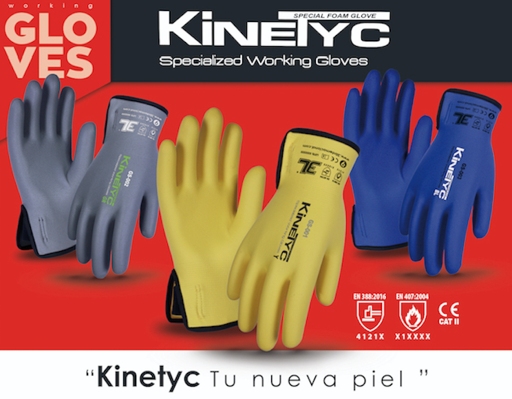 guantes kinetyc