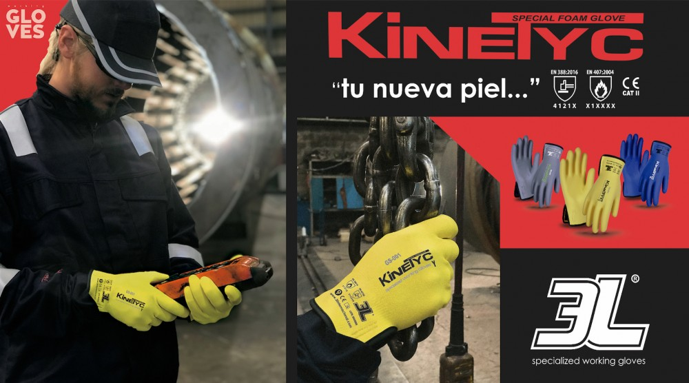 kinetyc guantes