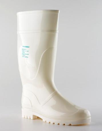 bota 109 rain blanca
