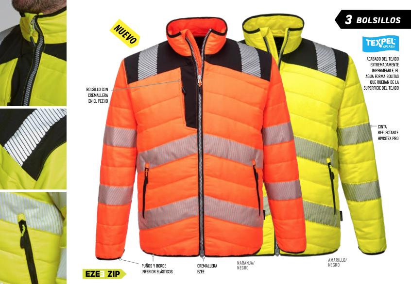 pw371 chaqueta laboral