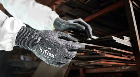 manipulación guantes