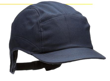 gorra resistente al fuego