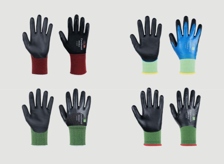 características guantes coreshield