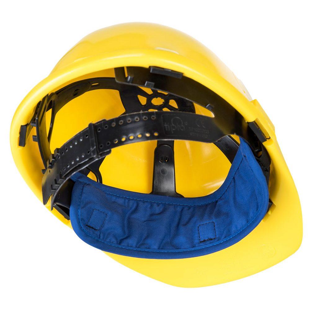 banda refrescante casco